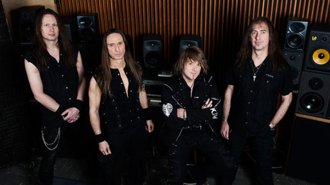 """Gamma Ray Photoshoot for """"Empire Of The Undead"""""""