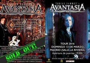 avantasia_cartel doble MadridSoldOut