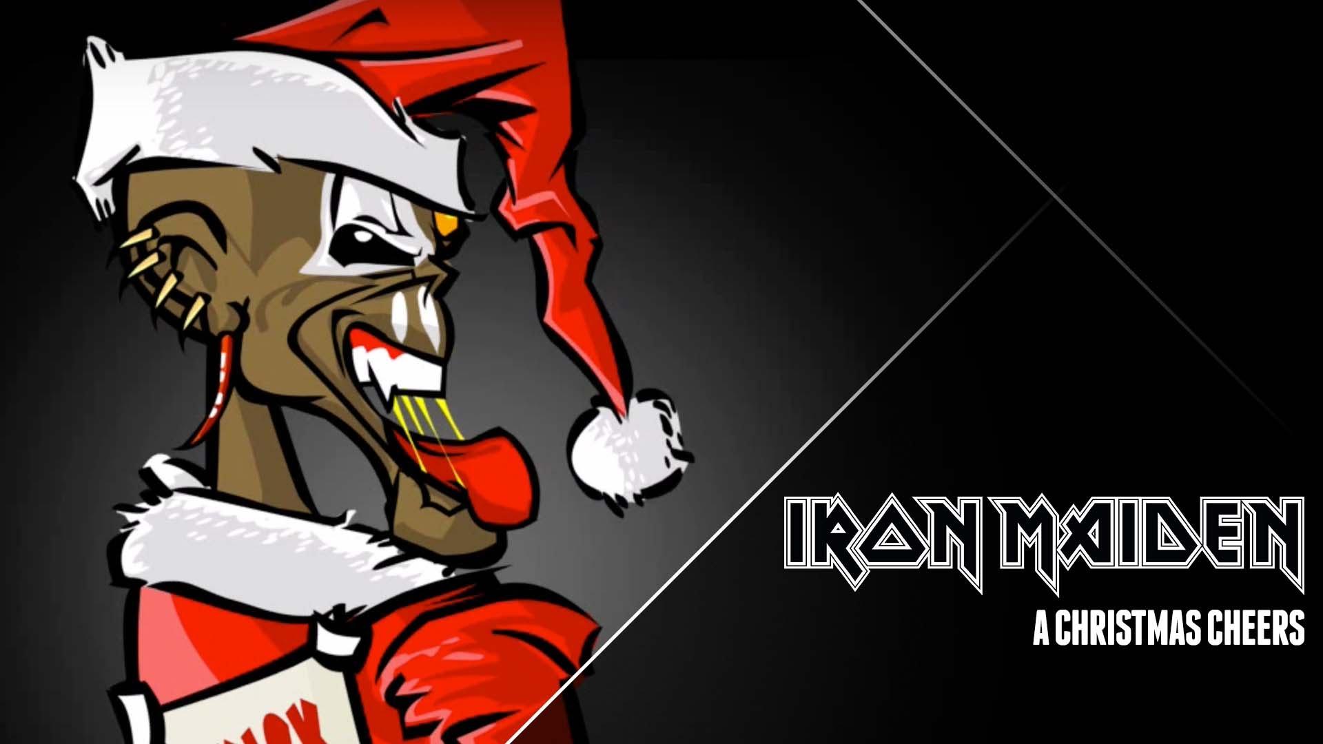Presentaciones Feliz Navidad.Feliz Navidad De Parte De Iron Maiden
