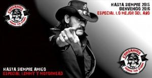 Aviso Lemmy y fin 2015