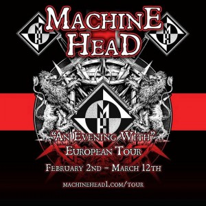 Machine Head European tour 2015