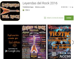 App Leyendas