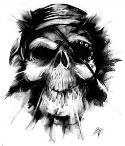 pirate_skull_commission_by_xidis777-d3h9vg5