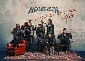 Primera foto oficial de reunión de HELLOWEEN