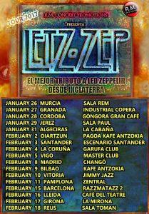 LED ZEP cambios con RAZZ 2 y LA CABAÑA mail