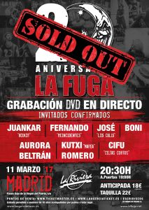 CARTEL-SOLD-OUT la fuga