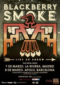 Entradas blackberry smoke Madrid 2017