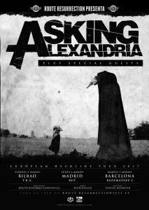 Route-Resurrection-2017-Asking-Alexandria-Poster-TBA