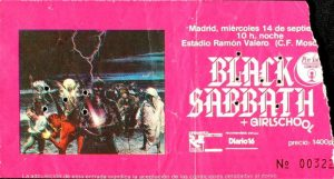 Sabbath Madrid
