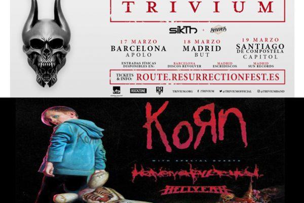Korn Trivium