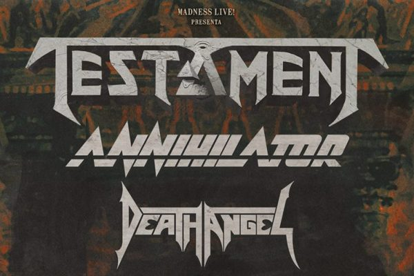 Testament, Annihilator y Death Angel