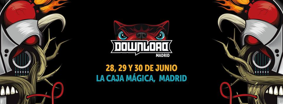 Header de Download festival Madrid 2017