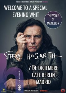 Steve Hogarth en Madrid