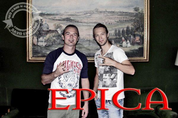 Mark e Isaac de EPICA