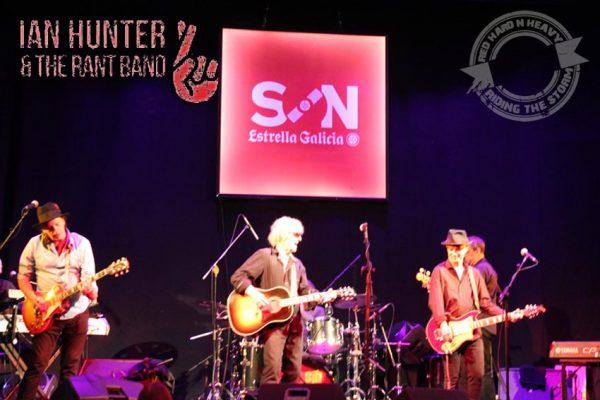 Ian Hunter & The Rat band