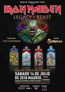 Iron Maiden en Madrid